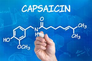 Etude efficacité de la capsaïcine sur l'arthrose