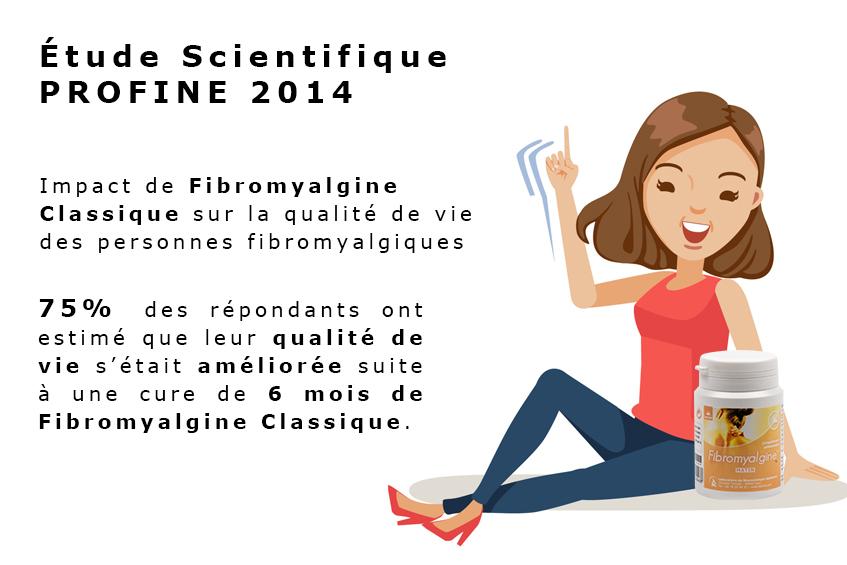 Fibromyalgie Etude Scientifique PROFINE