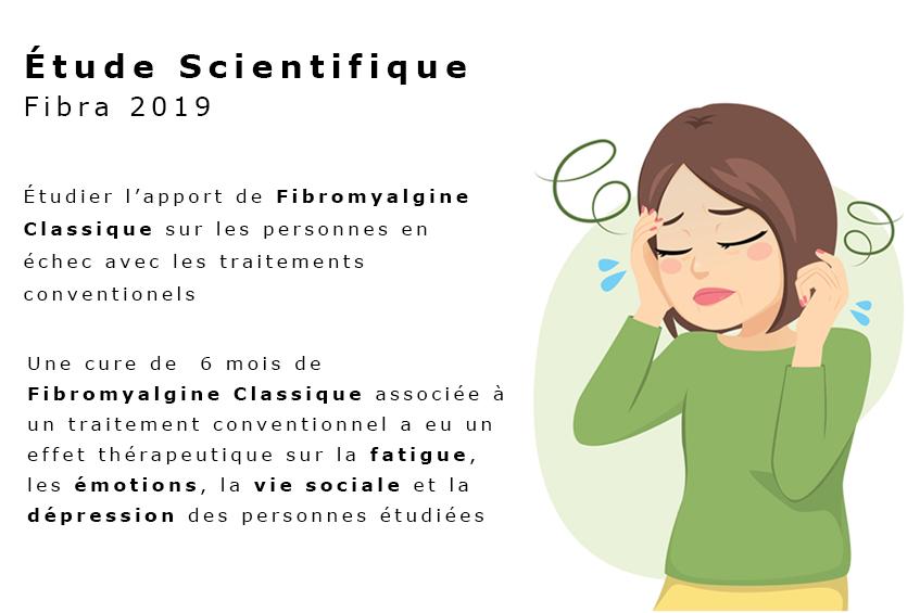 Fibromyalgie : Etude scientifique FIBRA