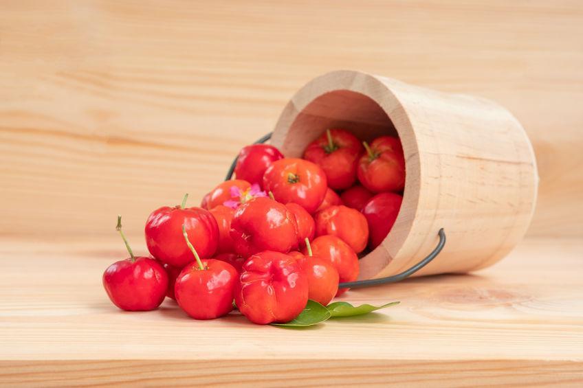 L'acérola, la cerise d'Amérique du sud riche en vitamine C